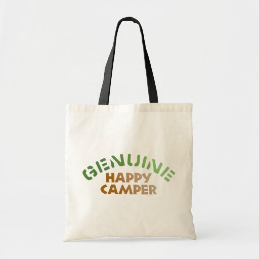 Genuine Happy Camper Bag