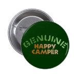 Genuine Happy Camper Pins