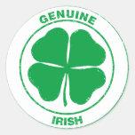 Genuine Irish Classic Round Sticker