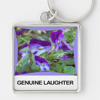 Genuine Laughter Keychain