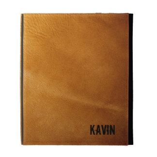 Genuine | Leather | Photography | Personalized iPad Folio Cases