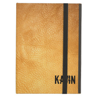 Genuine | Leather | Photography | Personalized iPad Air Covers