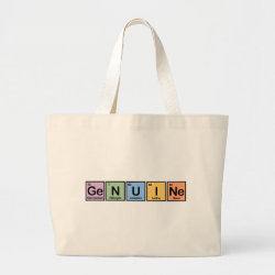Jumbo Tote Bag with Genuine design