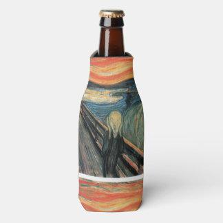 Genuine,Munch,reproduction,the scream,vintage art, Bottle Cooler