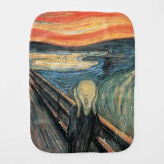 Genuine,Munch,reproduction,the scream,vintage art, Burp Cloths