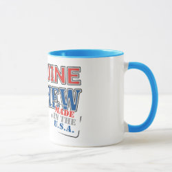 Combo Mug with Genuine Nephew USA design