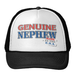 Trucker Hat with Genuine Nephew USA design