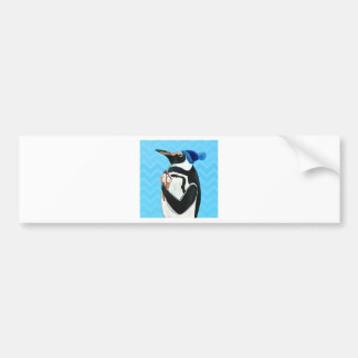 Genuine Penguin Car Bumper Sticker