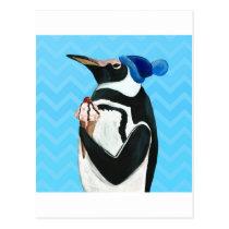 Genuine Penguin Postcard