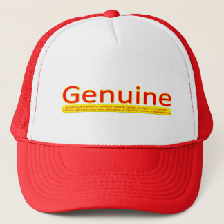 Genuine Person Trucker Hat