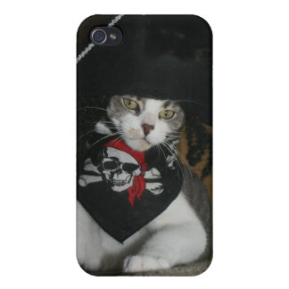 Genuine Pirate Kitty iPhone 4/4S Case