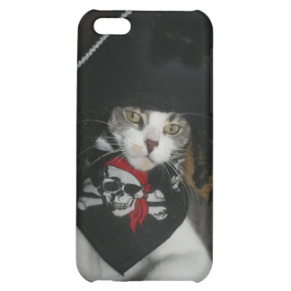 Genuine Pirate Kitty Case For iPhone 5C