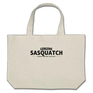 Genuine Sasquatch Tote Bag