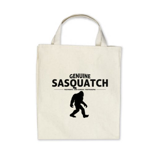 Genuine Sasquatch Tote Bag