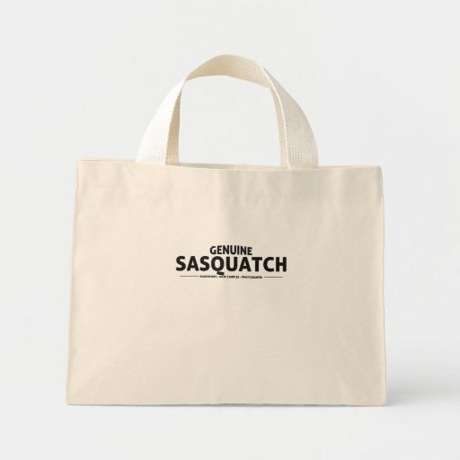 Genuine Sasquatch Canvas Bag