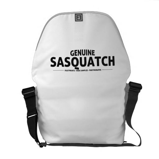 Genuine Sasquatch Messenger Bag