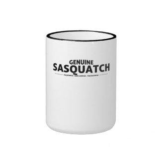 Genuine Sasquatch Ringer Coffee Mug