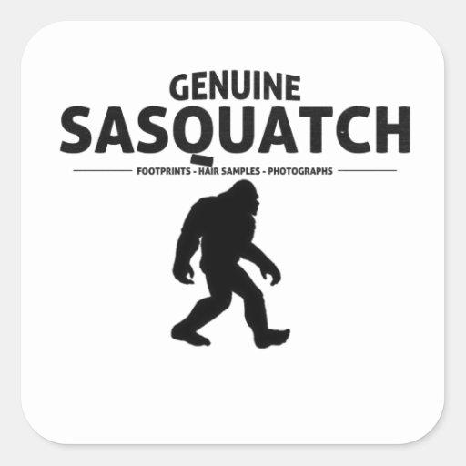 Genuine Sasquatch Stickers