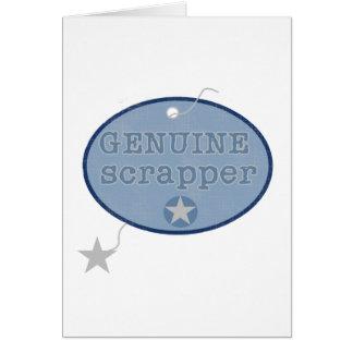 Genuine Scrapper Card