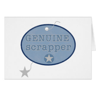 Genuine Scrapper Tshirts and Gifts Card