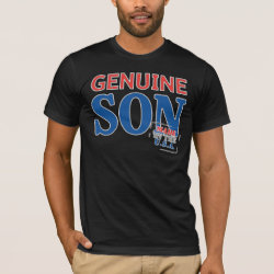 Men's Basic American Apparel T-Shirt with Genuine Son USA design