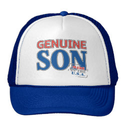 Trucker Hat with Genuine Son USA design