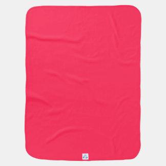 Geo 07 fuschia pink yellow multicolor baby gear stroller blanket