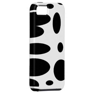 GEO 12 black white bovine iPhone 5 Cover