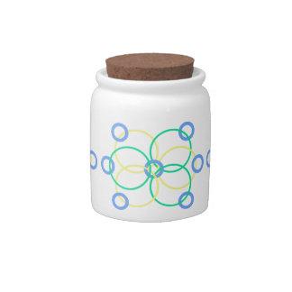 Geo 1 candy jar