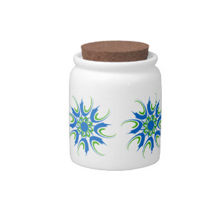 Geo 2 candy jar