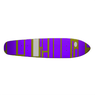 Geo 9 Skateboard Deck