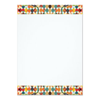 [GEO-ABS-1] Abstract oval pattern Card