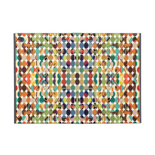 [GEO-ABS-1] Abstract oval pattern iPad Mini Cover