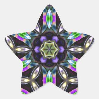Geo Abstract Star Sticker