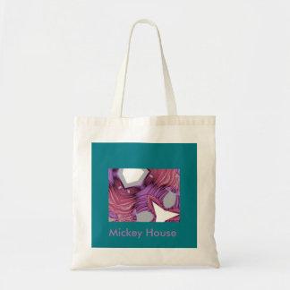 Geo and Violet. Tote Bag