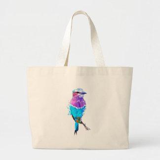 Geo Bird Large Tote Bag