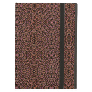[GEO-BRO-1] Brown cobble pattern Case For iPad Air