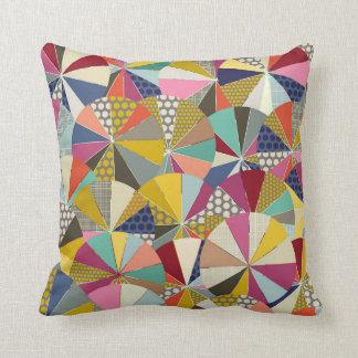 geo brolly throw pillow
