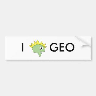 GEO bumper sticker