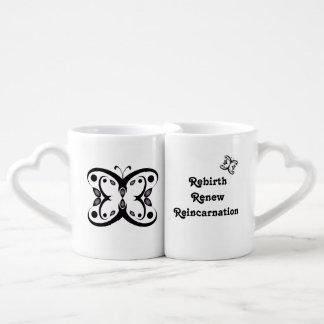 Geo Butterfly Coffee Mug Set