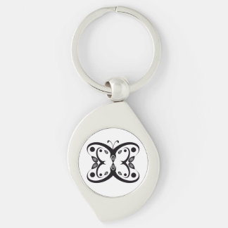 Geo Butterfly Keychain