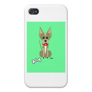 Geo Chihuahua Covers For iPhone 4