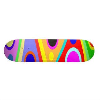 Geo Circles Skateboard Deck