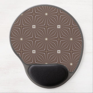 Geo Coffee Gel Mouse Pad