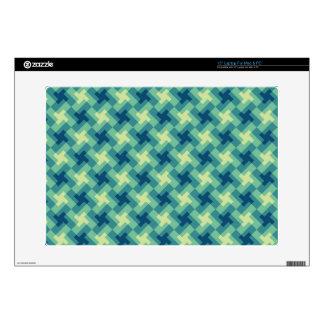 """Geo Cross Pattern 15"""" Laptop Skin"""