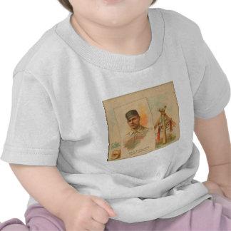Geo F Miller Pittsburg Alleghenys Tee Shirts