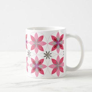 Geo-floración-sorbete de la taza de café