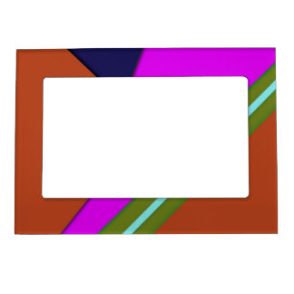 Geo Fun 13 (I) Magnetic Picture Frame