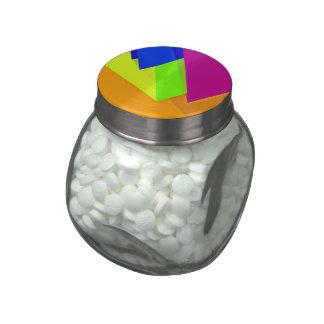 Geo Fun 15 (I) Jelly Belly Candy Jar