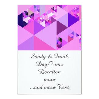 Geo Fun 19 pink (I) Card